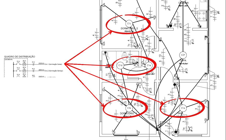 Circuito Unifilar : Import ncia do diagrama unifilar