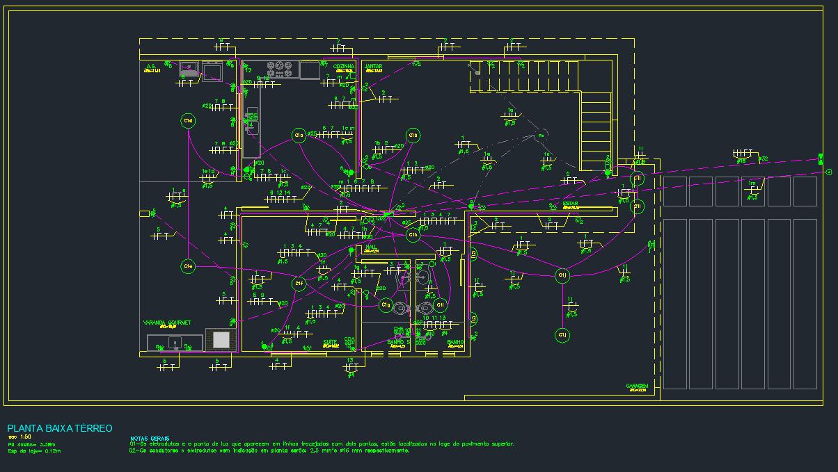 Curso Autocad engenharia elétrica